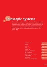 Telescopic systems - Ergra-Engelen
