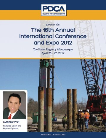 The 16th Annual International Conference and Expo 2012