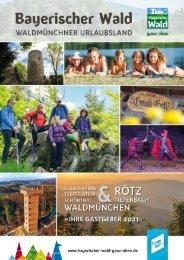 Unterkunftsverzeichnis Waldmünchner Urlaubsland