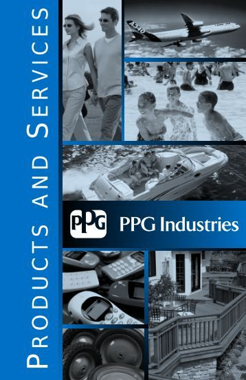 P & S brochure 2003 cover v.2.qxd - PPG Industries