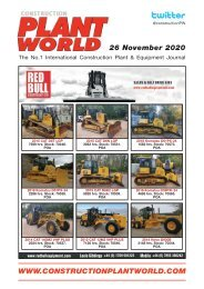Construction Plant World - 26th November 2020