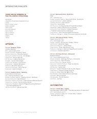interactive finalists apparel automotive - London International Awards