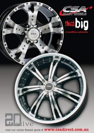 Wheel Catalogue - CSA Direct