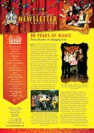 2010 OPEN DAY - College of Magic