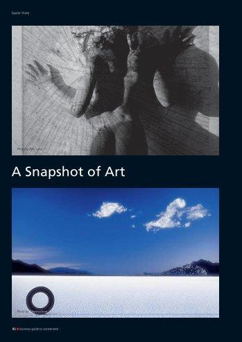 A Snapshot of Art - Photo Frontal