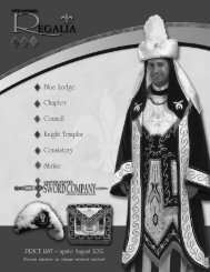 Knight Templar - New London Regalia Manufacturing Company, Inc.
