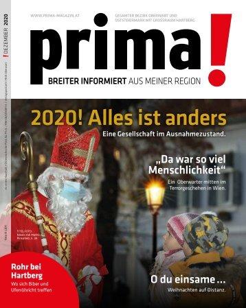 prima! Magazin - Ausgabe Dezember 2020