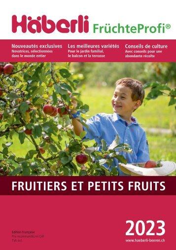 2021 Fruits et petits fruits de Häberli