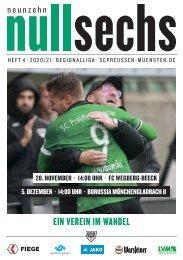 nullsechs Stadionmagazin - Heft 4 2020/21