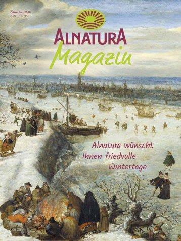 Alnatura Magazin Dezember 2020