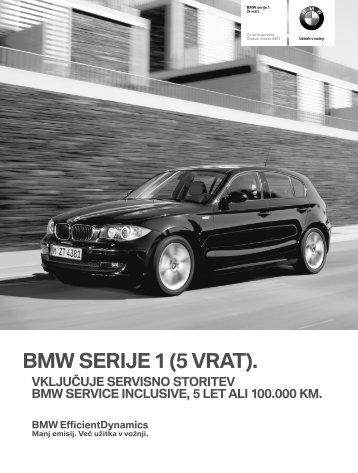 Dodatna oprema - BMW