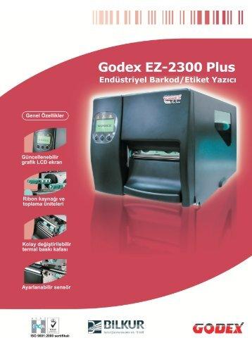 Endüstriyel Barkod/Etiket Yazıcı Godex EZ-2300 Plus - BİLKUR