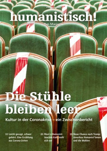 humanistisch! Das Magazin #12 - 1/2021