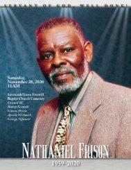 Nathaniel Frison Memorial Programs