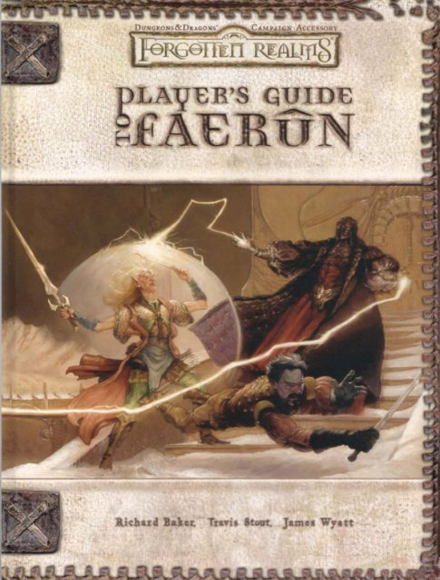 Player's Guide to Faerûn - The Forgotten Realms Northern