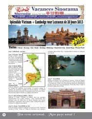 Ha long - Hué - Hoian - Danang - Nhatrang - Sinorama Holidays