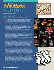 route 66 tour - Northeast New Mexico