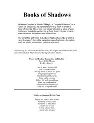 Books of Shadows - All Things Mystickal & Magickal
