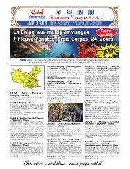 Voyage en 2013 Sinorama Voyages SARL - Sinorama Holidays