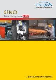 Katalog 2012 - SINOtec GmbH