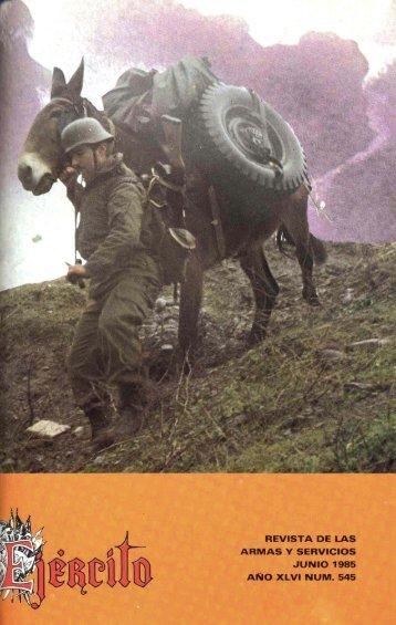 Nº 545 1985 Junio - Portal de Cultura de Defensa - Ministerio de ...