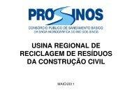usina regional de reciclagem de resíduos da construção ... - Pró-Sinos