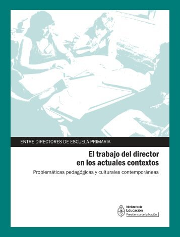 El trabajo del director en los actuales contextos - Repositorio ...