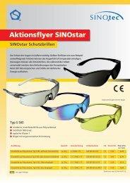 Aktionsflyer SINOstar ® - SINOtec GmbH