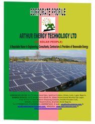 Arthur Profile New Edited - arthur energy technology ltd.