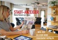Mediadaten Stadt-Anzeiger 2021