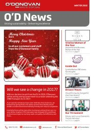 OD News Winter 2016