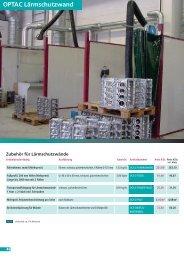 OPTAC Lärmschutzwand - SINOtec GmbH