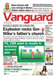 30112020 - Explosion rocks Gov Wike's father's church  Explosion rocks Gov Wike's father's church