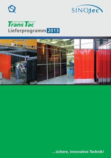 Schweißer- und Schutzvorhänge - SINOtec GmbH