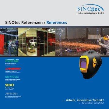 SINOtec Referenzen / References - SINOtec GmbH