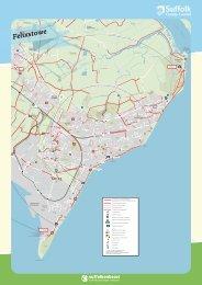 Felixstowe Cycle Map