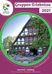 Gruppen-Erlebnisse Südheide Gifhorn 2021