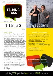 Issue One - Talking Togs Times - 15th November 2020