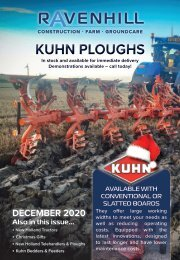 Ravenhill Monthly Leaflet December 2020