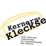 Kerners Kleckse ... eine Interimsausstellung im Literaturmuseum der Moderne