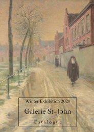 Galerie St-John, Gent Winter Exhibition 2020 catalogue