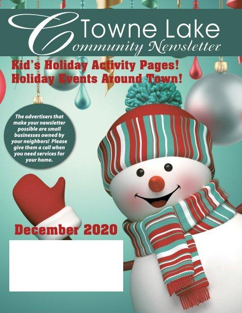 Towne Lake December 2020