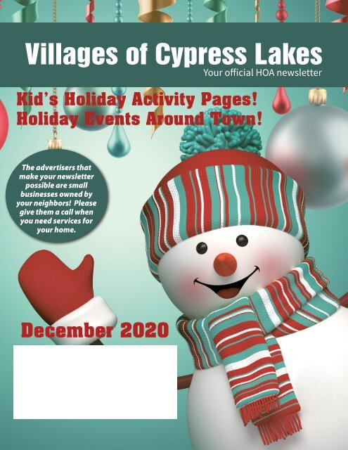 Villages of Cypress Lakes December 2020