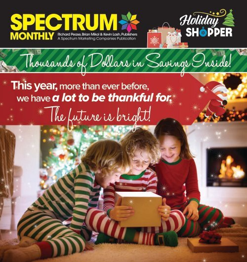 Spectrum Monthly Holiday Shopper Special Edition 2020