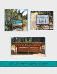 BRVCA Annual Report 2020- FINAL