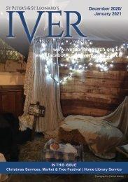 Iver Parish Magazine - December 2020 / January 2021