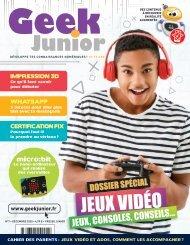 Geek Junior N°7 - décembre 2020 - extrait