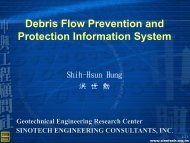 Debris Flow Prevention and Protection Information ... - MapWindow