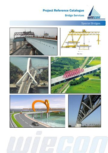 Project Reference Catalogue - wiecon