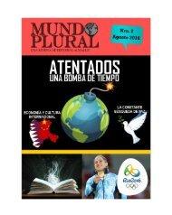 REVISTA MUNDO PLURAL AGOSTO 2016